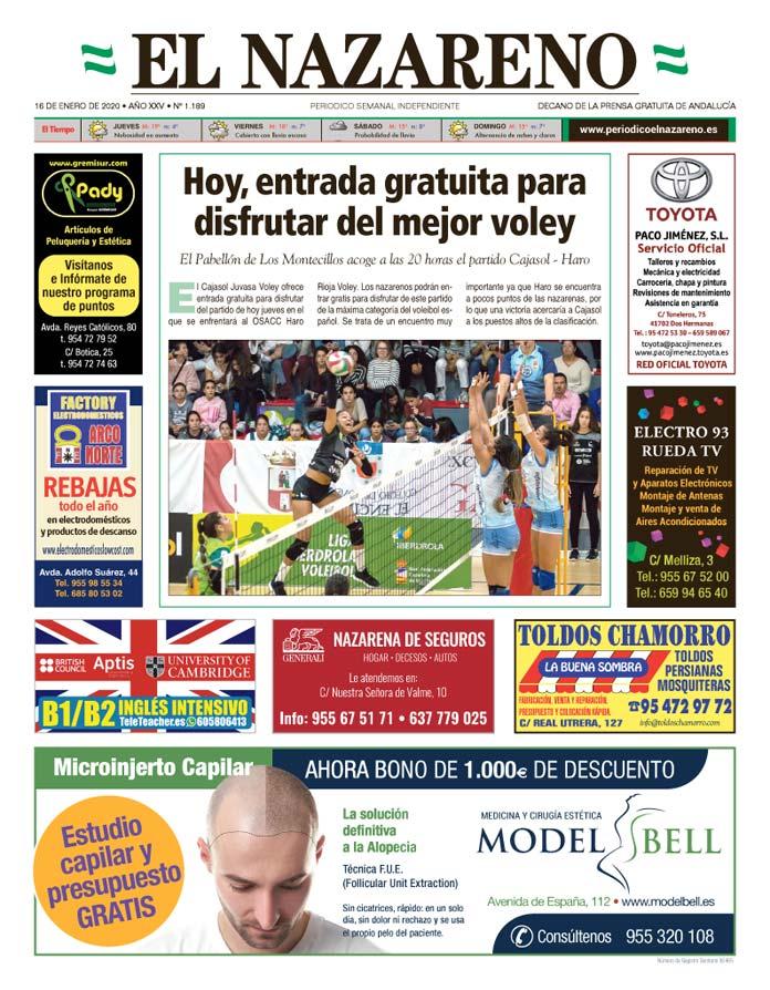Periódico El Nazareno nº 1.189