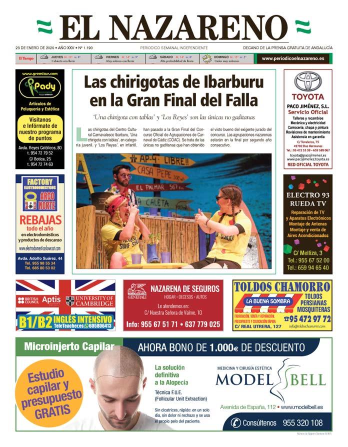 Periódico El Nazareno nº 1.190