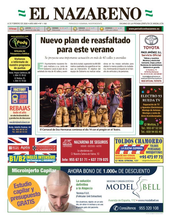 Periódico El Nazareno nº 1.192