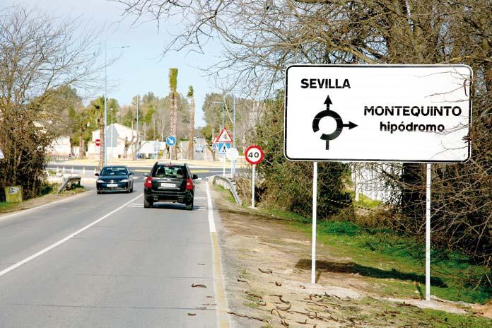 carretera antigua Dos Hermanas-Bellavista