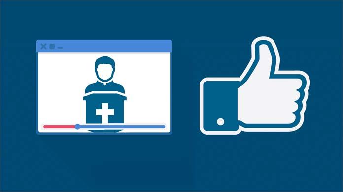 Misa vía Facebook