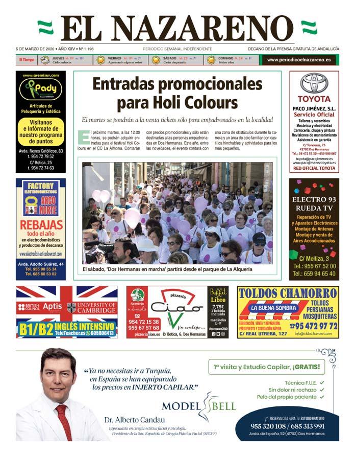 Periódico El Nazareno nº 1.196