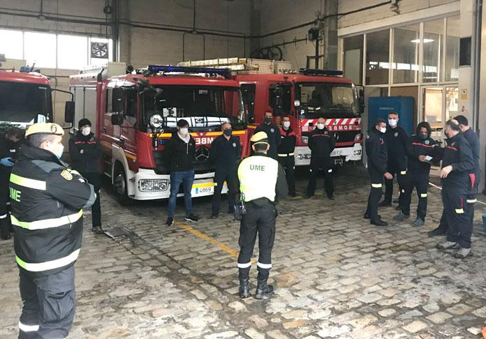 Los bomberos nazarenos