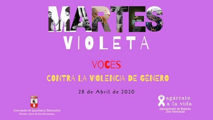 Martes violeta