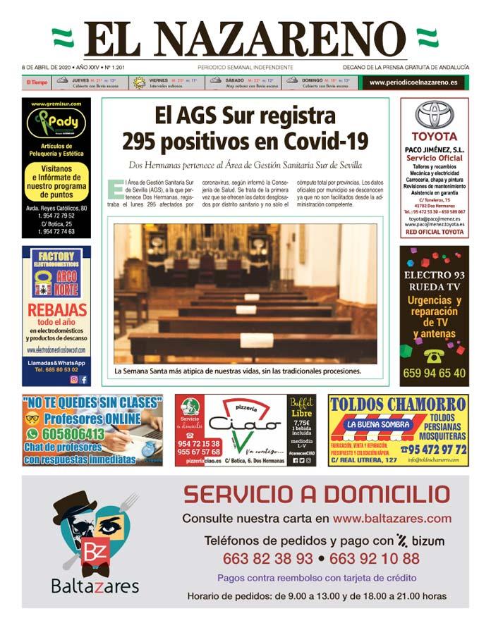Periódico El Nazareno nº 1.201 de 8 de abril de 2020