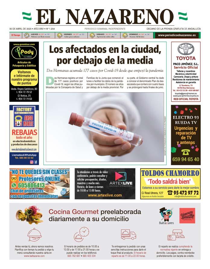 Periódico El Nazareno nº 1.204 de 30 de abril de 2020