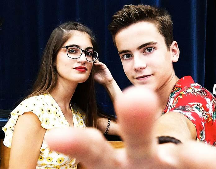 Lucía y Álvaro Real