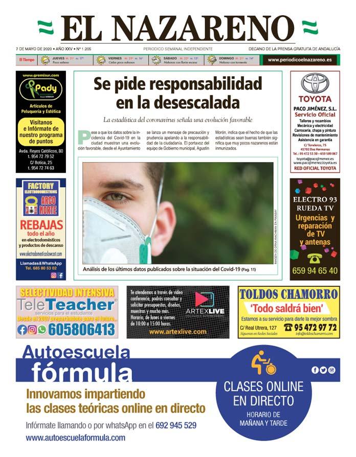 Periódico El Nazareno nº 1.205 de 7 de mayo de 2020