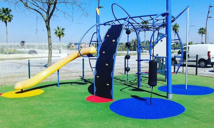 parques infantiles y biosaludables