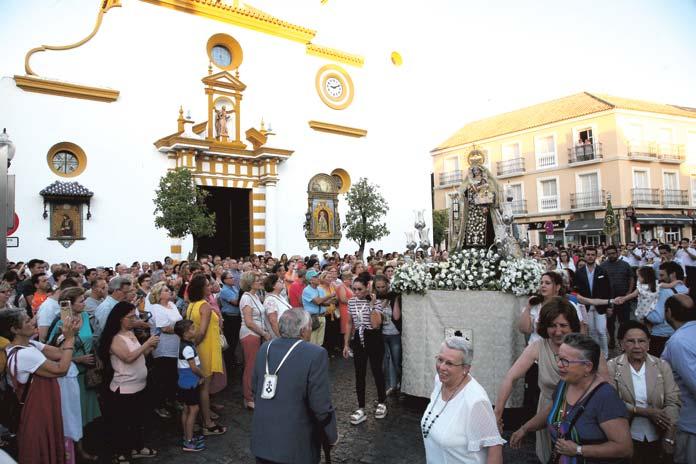 Cultos a la Virgen del Carmen