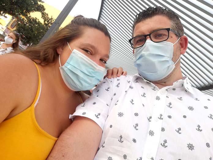 Mónica y Darío