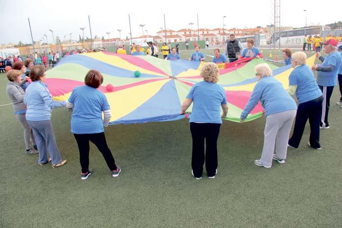 actividad física para personas mayores