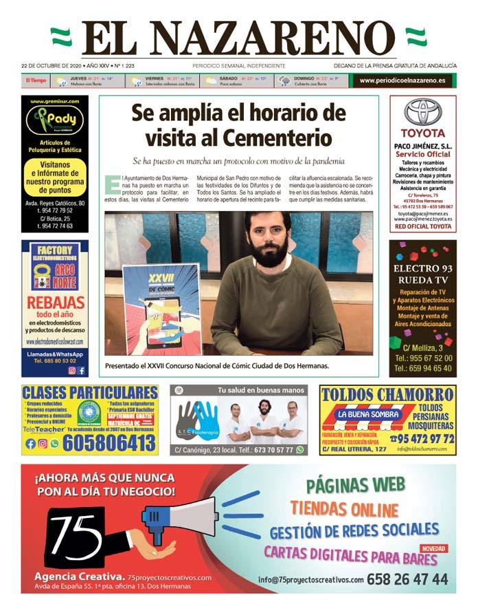 Periódico El Nazareno nº 1.223 de 22 de octubre de 2020