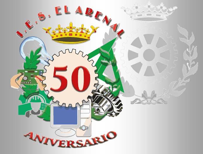IES El Arenal: 50 años de historia