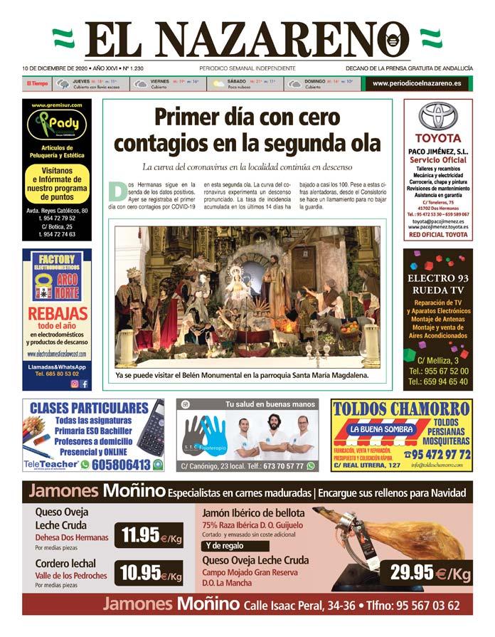 Periódico El Nazareno nº 1.230 de 10 de diciembre de 2020
