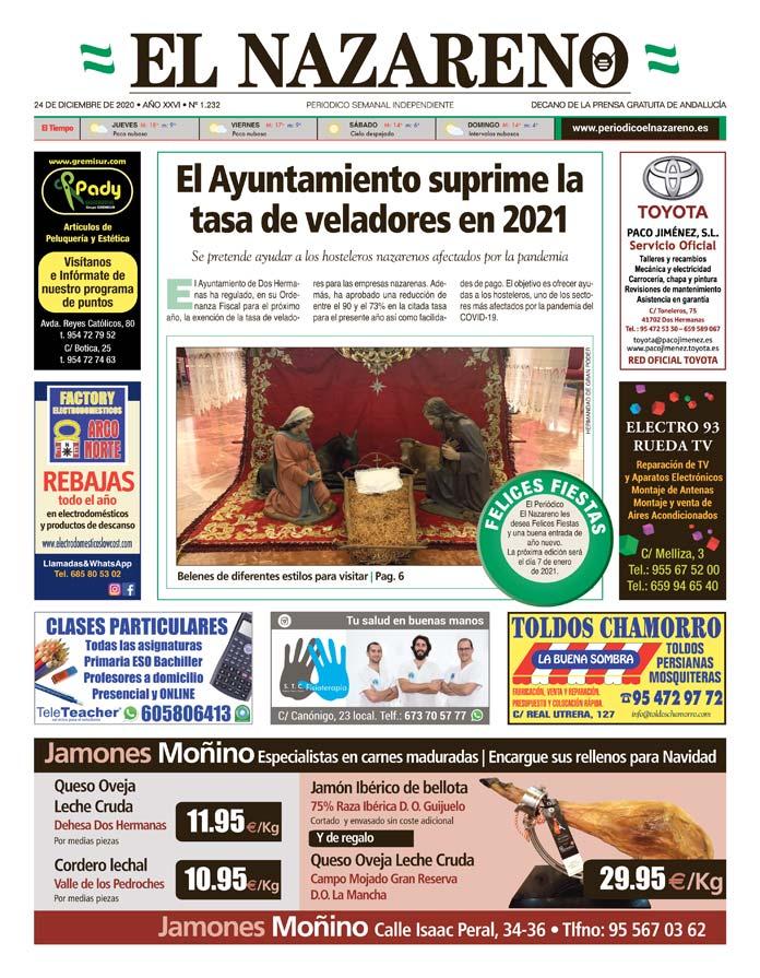 Periódico El Nazareno nº 1.232 de 24 de diciembre de 2020