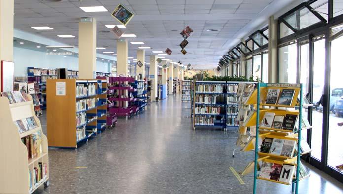 Biblioteca y Salas de Estudio