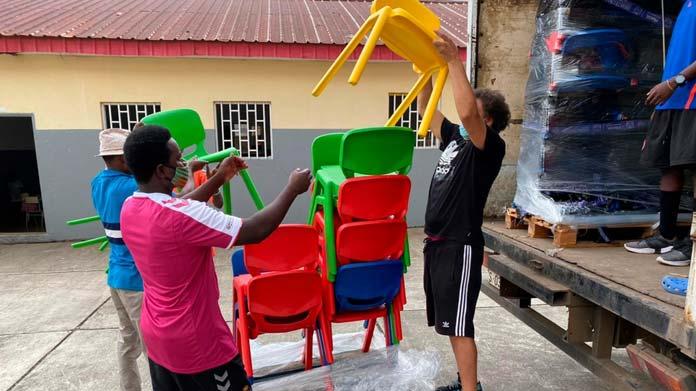 orfanato de Malabo
