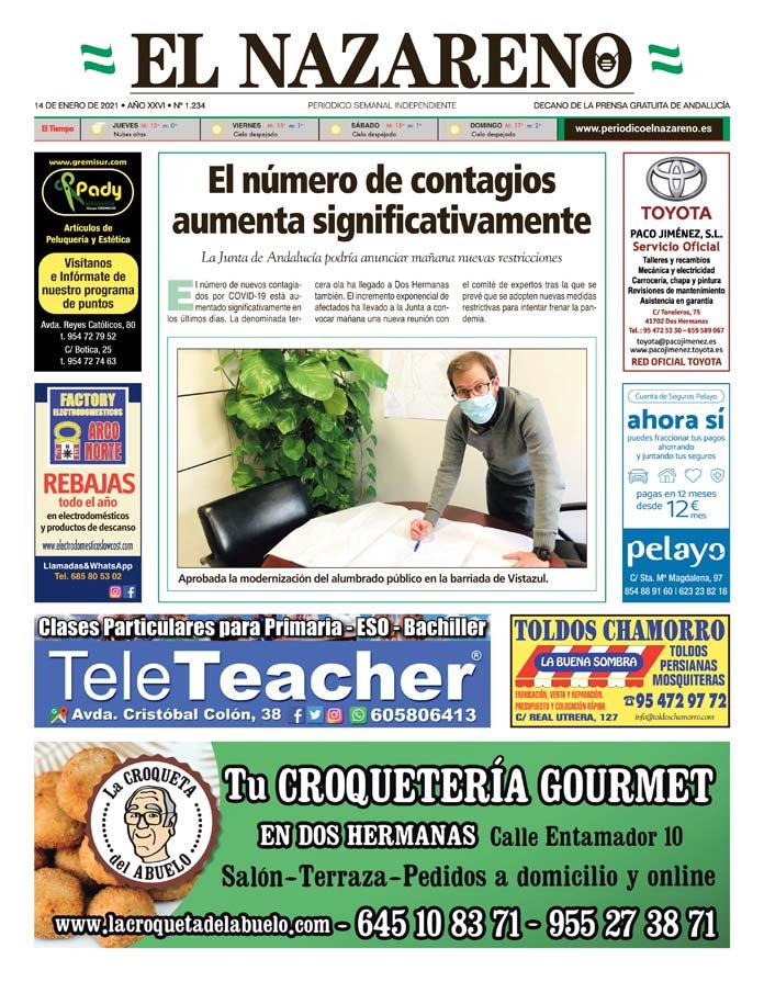 Periódico El Nazareno nº 1.234 de 14 de enero de 2021