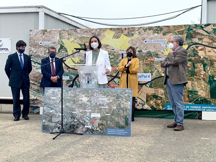 Ministra de Industria ha visitado Megapark