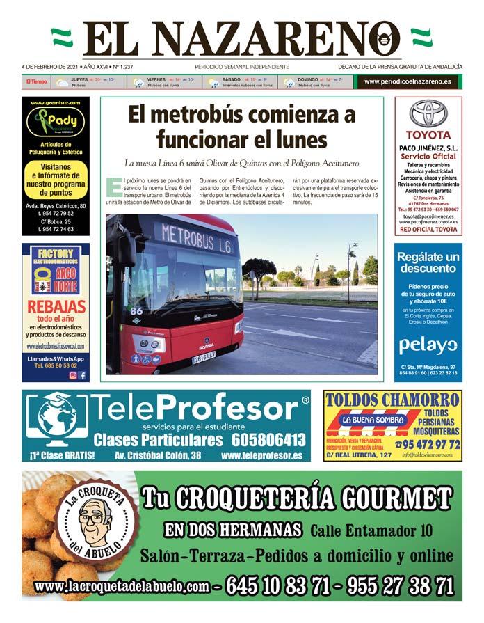 Periódico El Nazareno nº 1.237 de 4 de febrero de 2021