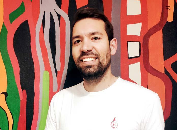 pintor nazareno Rafa López
