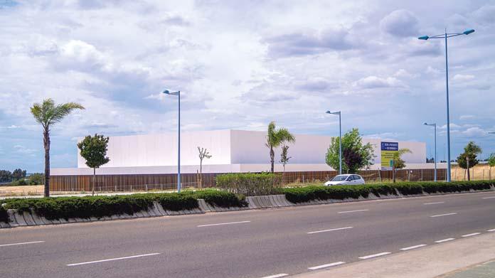 Palacio de Exposiciones nazareno