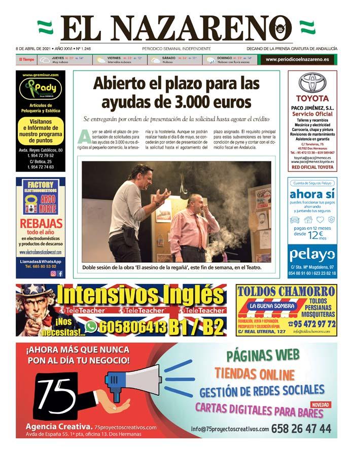 Periódico El Nazareno nº 1.246 de 8 de abril de 2021