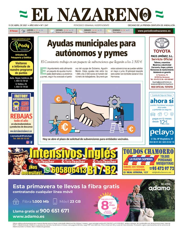 Periódico El Nazareno nº 1.247