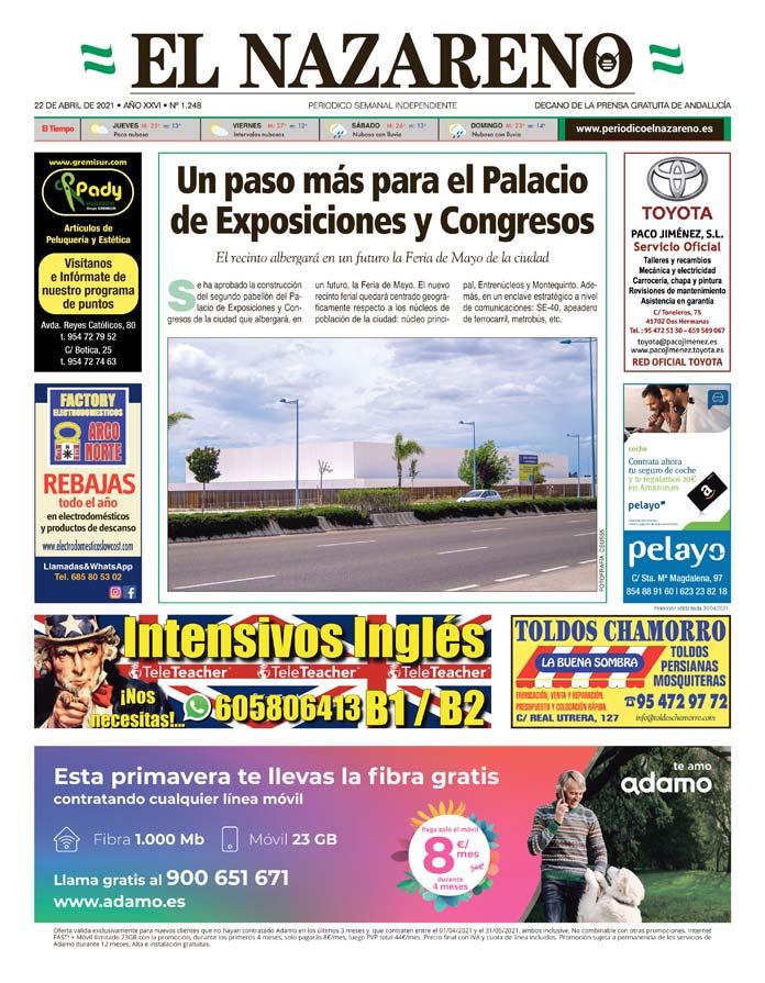 Periódico El Nazareno nº 1.248 de 22 de abril de 2021