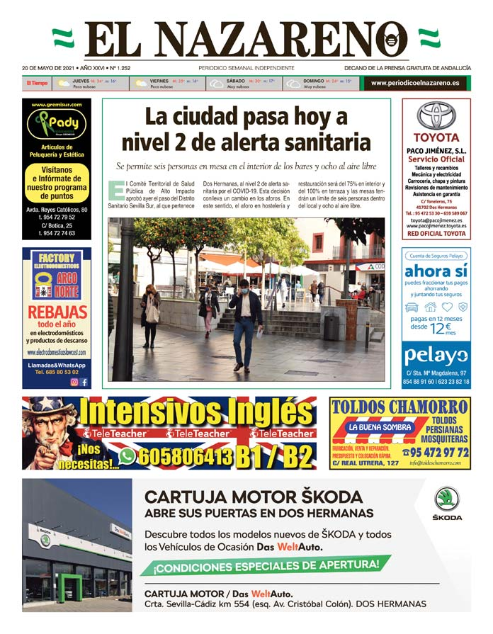 Periódico El Nazareno nº 1.252 de 20 de mayo de 2021