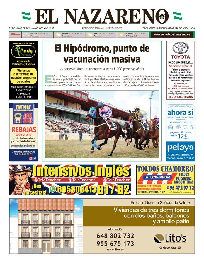 Periódico El Nazareno nº 1.253 de 27 de mayo de 2021