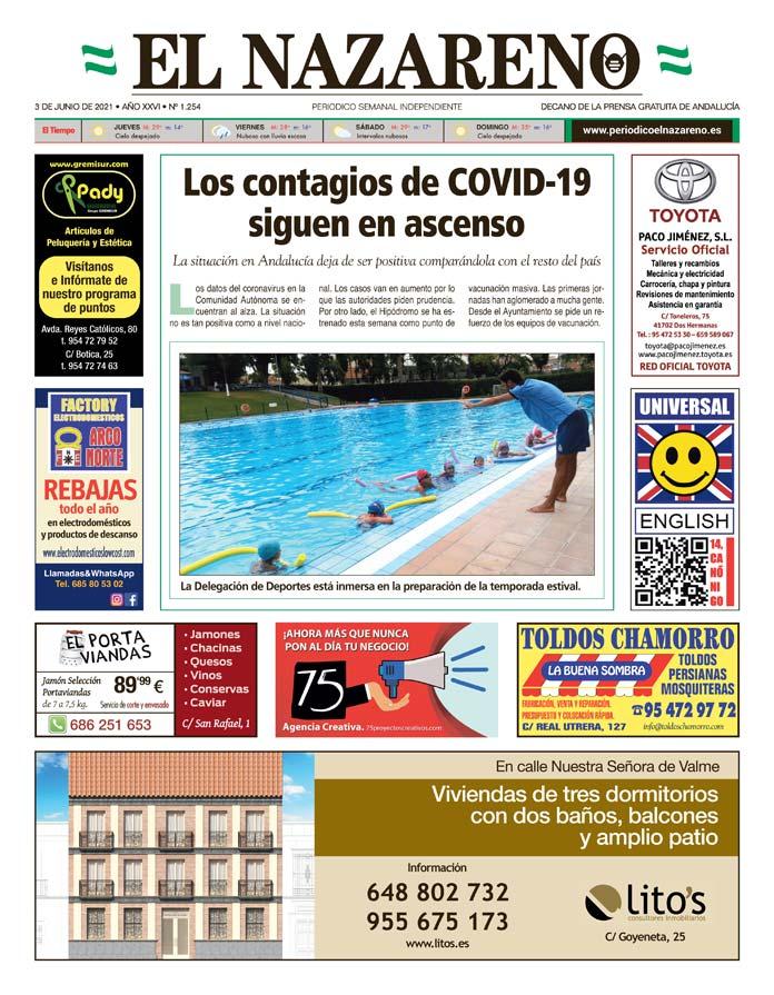 Periódico El Nazareno nº 1.254 de 3 de junio de 2021