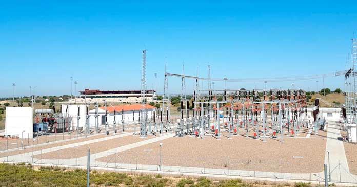 subestación eléctrica de Entrenúcleos