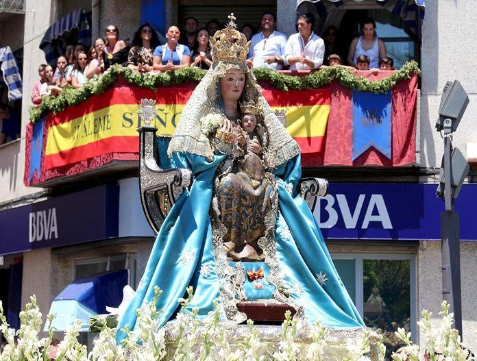 Peregrinación de la Virgen de Valme