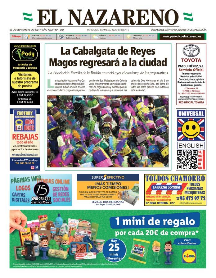 Periódico El Nazareno nº 1.264 de 23 de septiembre de 2021