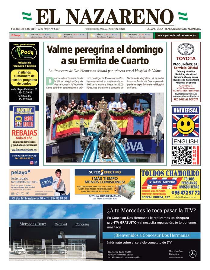 Periódico El Nazareno nº 1.267 de 14 de octubre de 2021